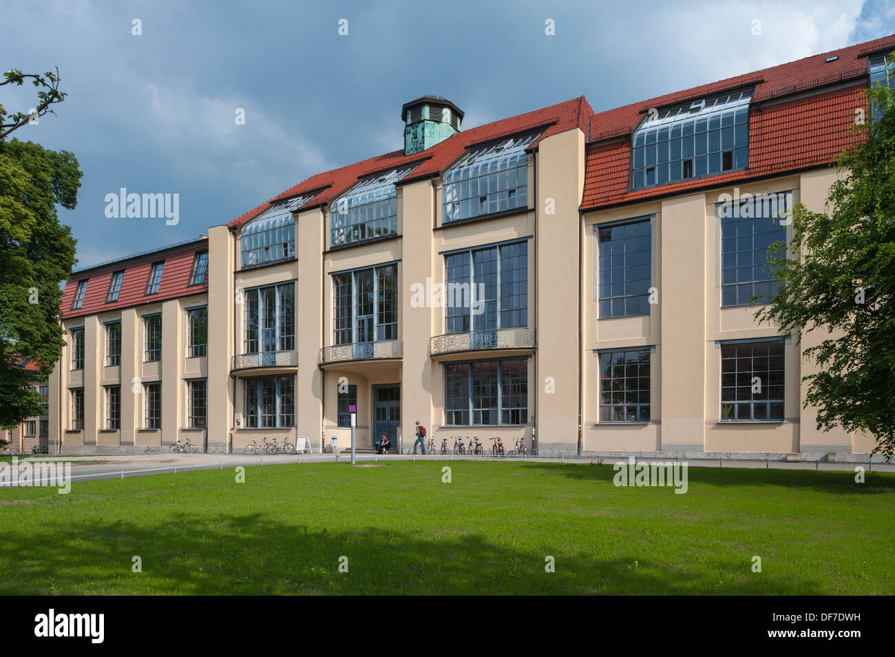 Main Building Of The Bauhaus University Weimar Former Art School Designed After
