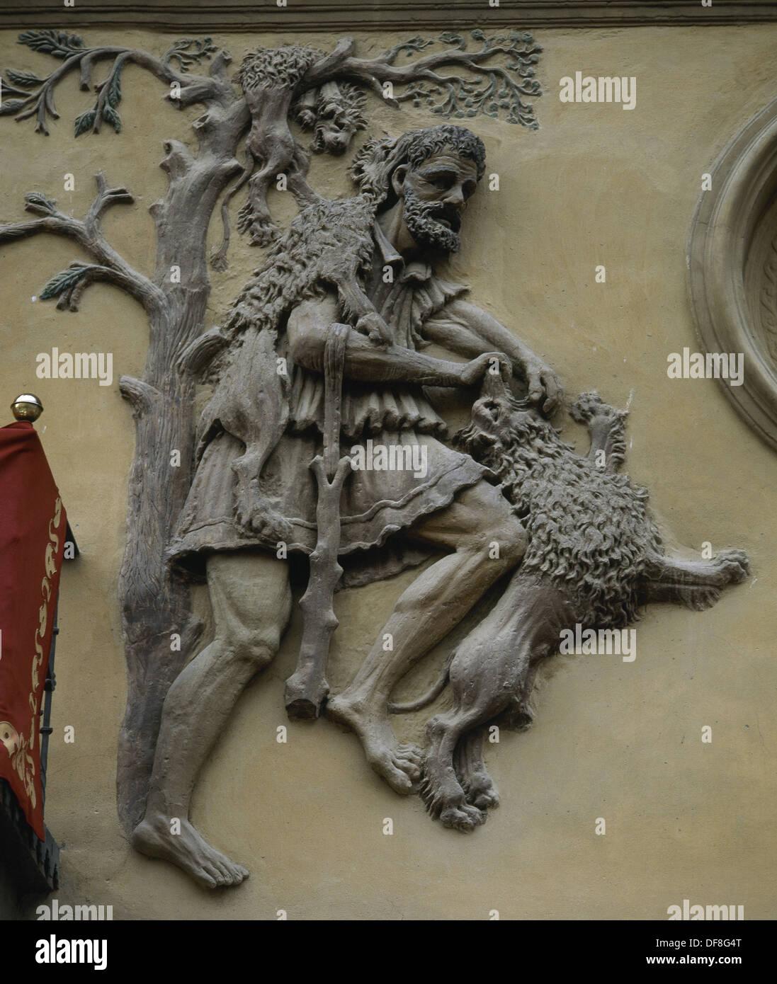 Twelve Labors Of Hercules First Labor Kill The Nemean
