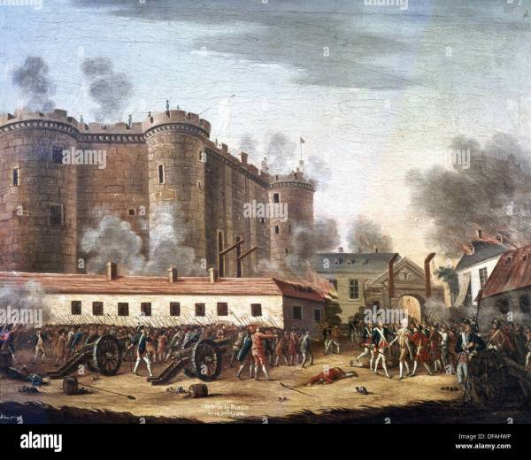 French Revolution. Storming Of Bastille. July 14
