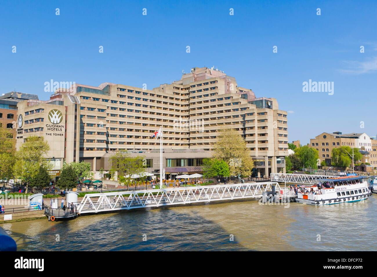 The Tower Hotel Guoman Hotels By River Thames With St