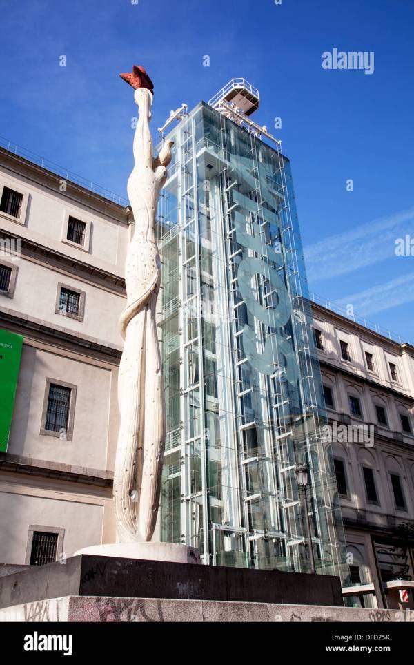 Museo Nacional Centro De Arte Reina Sofia Stock &