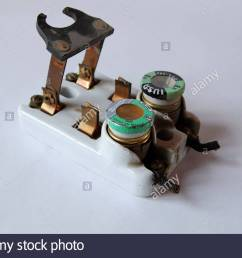 1950s vintage ceramic fuse box electrical circuit breaker with fuses old fuse box light fuse for breaker box [ 1300 x 954 Pixel ]