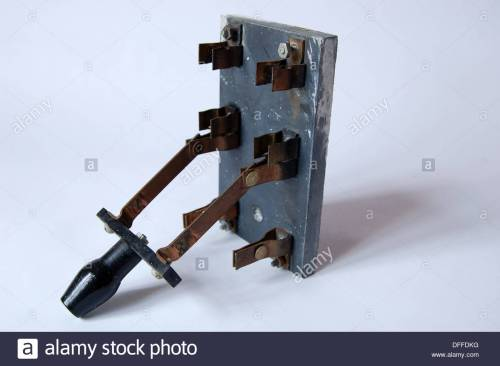 small resolution of closeup antique old electrical fuse box breaker switch brass stock