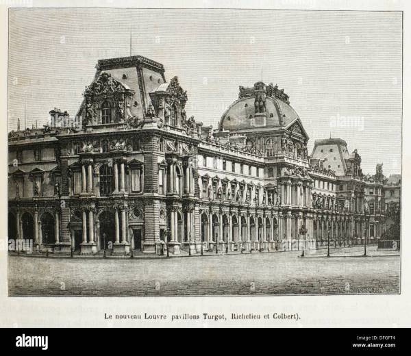 Louvre Palace 19th Century