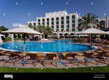 Swimming Pool Area Of Rotana Resort Hotel In Al Ain