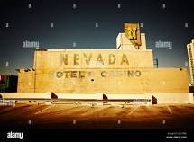 Abandoned Nevada Hotel And Casino Las Vegas Usa