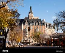 Historic Delta Bessborough Hotel In Downtown Saskatoon
