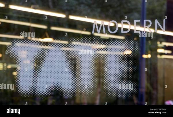 Tate Modern Logo Stock 61617962 - Alamy