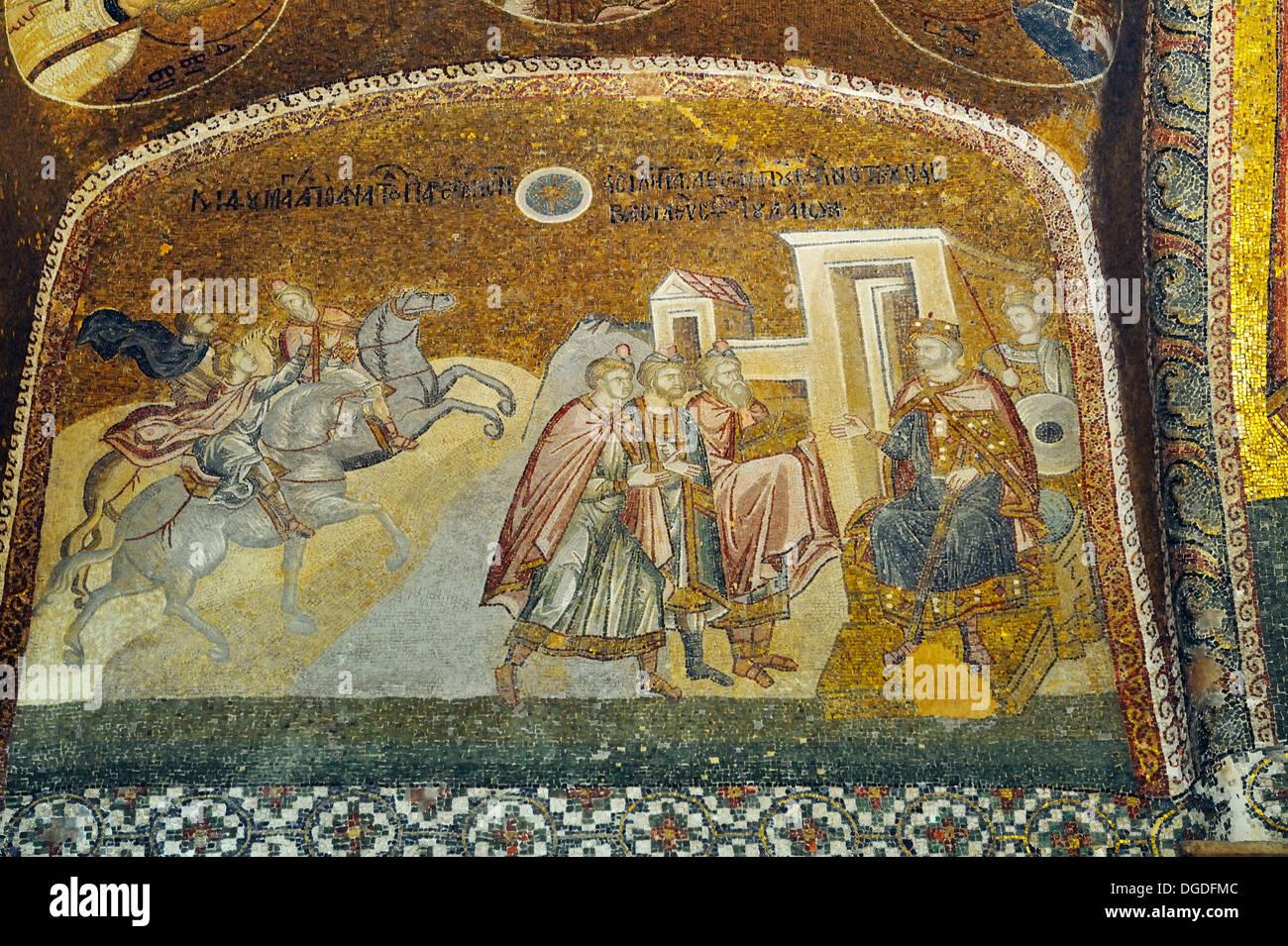 The Magi And King Herod Kariye Camii St Savior In Chora