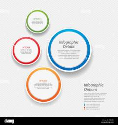 3d circular infographic background with sample text [ 1300 x 1390 Pixel ]