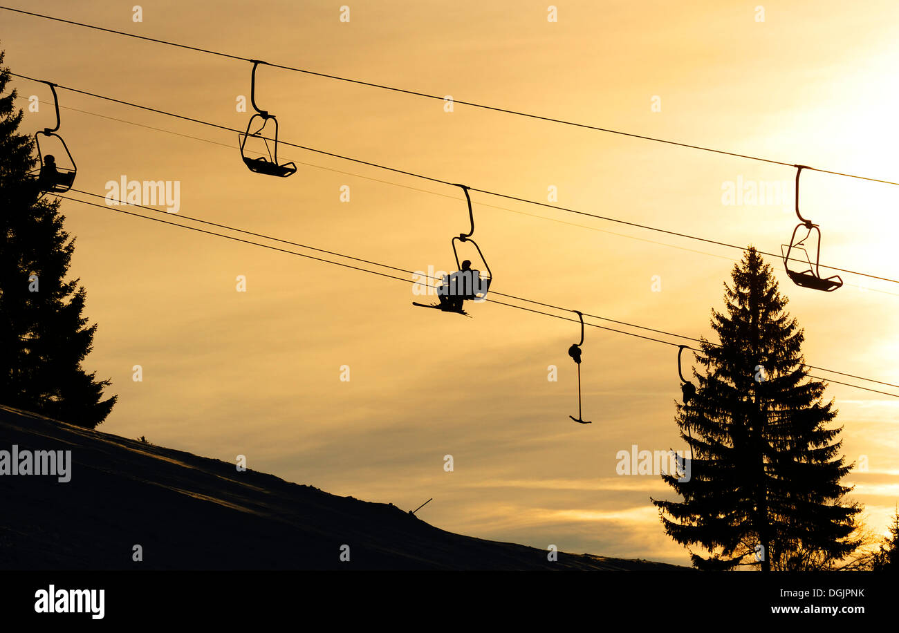 Chair Lift Stock Photos  Chair Lift Stock Images  Alamy