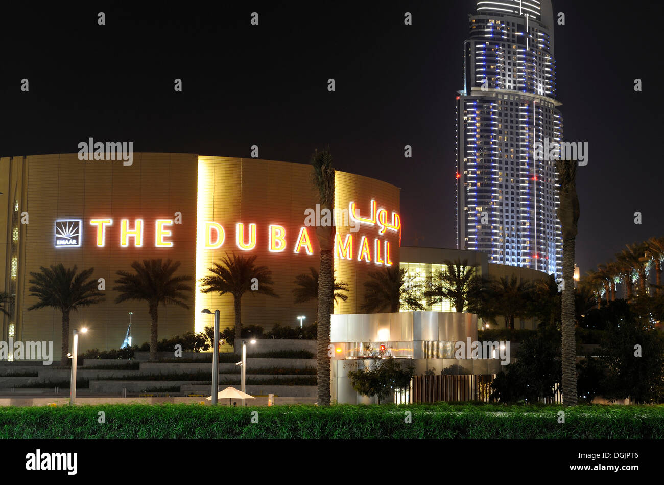 Dubai Mall And The Address Luxury Hotel 63 Floors