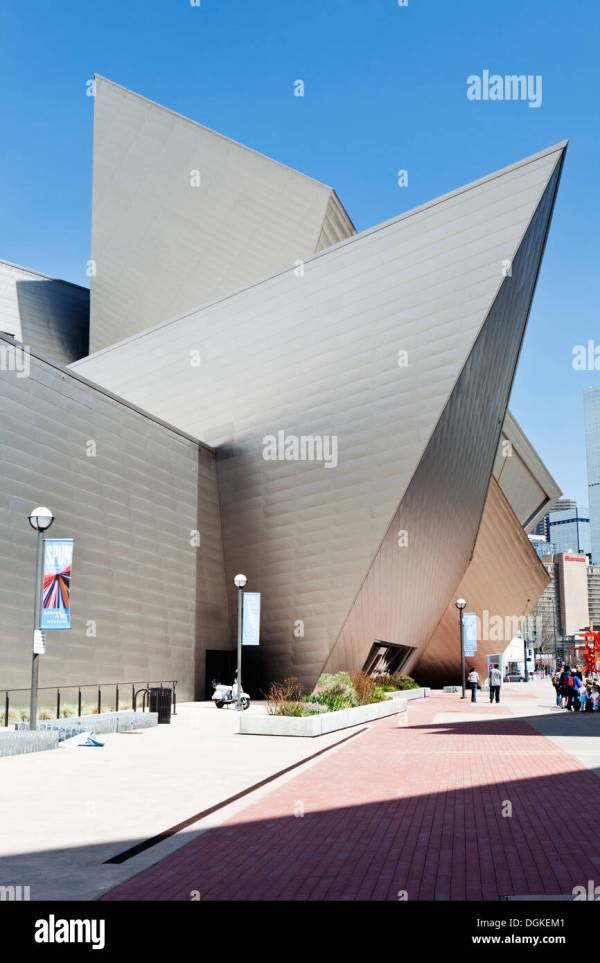 Denver Museum Of Contemporary Art Stock &