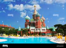 Hotel Wow Kremlin Palace In Antalya Turkish Riviera