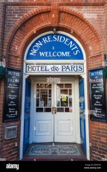 England East Anglia Norfolk Cromer Entrance Hotel