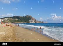 Cleopatra Beach And Castle Hill Kleopatra-strand Alanya