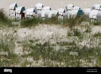 beach chairs behind dune Stock Photo, Royalty Free Image ...