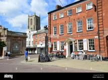 Bistro In Market Place Fakenham Norfolk England