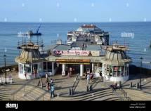Cromer Pier Upper Terrace Norfolk England