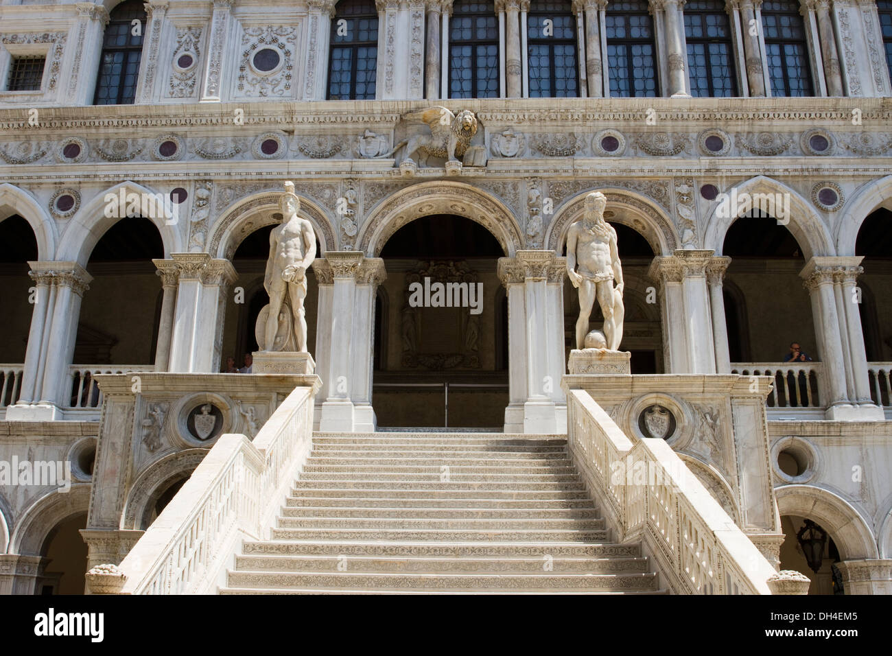 The Giant's Staircase in the Doge's Palace (Palazzo Ducale