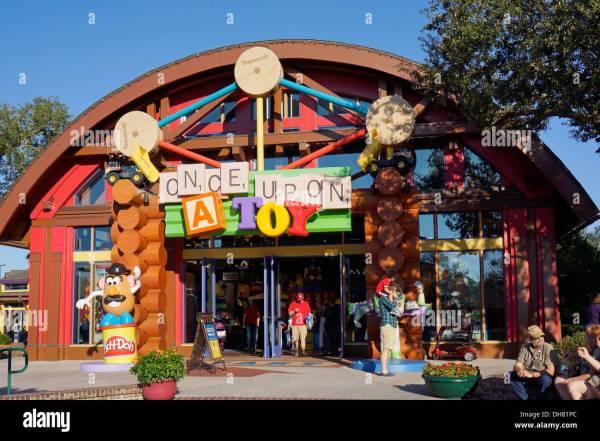 Toy Store Downtown Disney Marketplace Stock 62257284 - Alamy