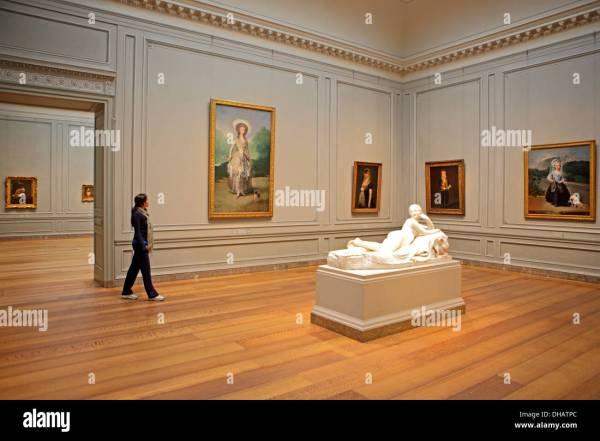 De Goya Paintings National Of Art Washington . Usa Stock Royalty Free