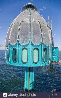 Diving Bell Pier Baltic Sea Spa Zinnowitz Usedom