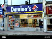 Domino's takeaway pizza shop in London Road Brighton UK ...