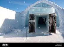 Kiruna Sweden Church Stock &