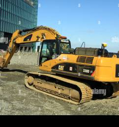 caterpillar 330d hydraulic excavator at work in reykjavik iceland [ 1300 x 956 Pixel ]
