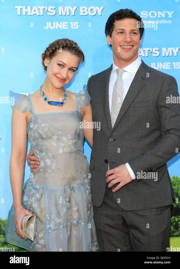 Andy Samberg Dating Joanna 2012