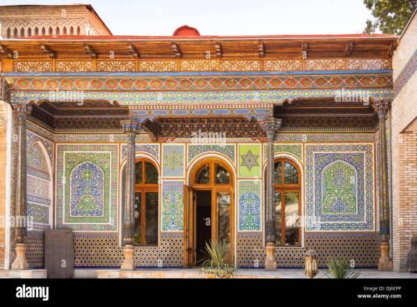 House Of Alexander Polovtsev Museum Applied Arts Tashkent Stock Royalty Free
