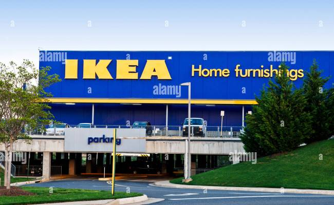 The Ikea Home Furnishings Store In Woodbridge Virginia