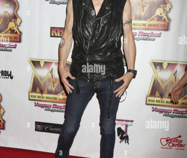 Michael Schenker Vegas Rocks Magazine Awards 2012 At The Joint Inside The Hardrock Hotel And Casino