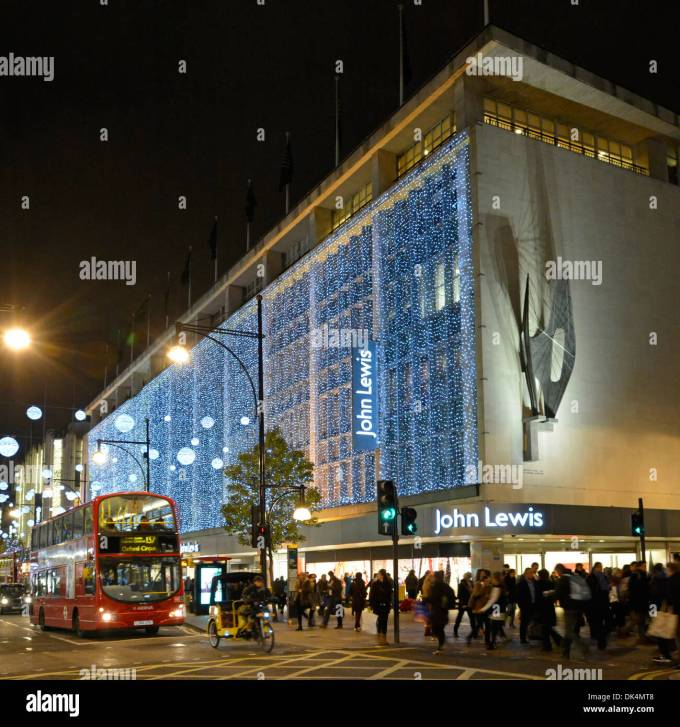 Fileoxford Street John Lewis Store Christmas In John Lewis Christmas Lights Stock Photos Oxford Street Christmaswallsco