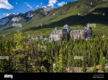 Fairmont Banff Springs Hotel In Alberta Canada