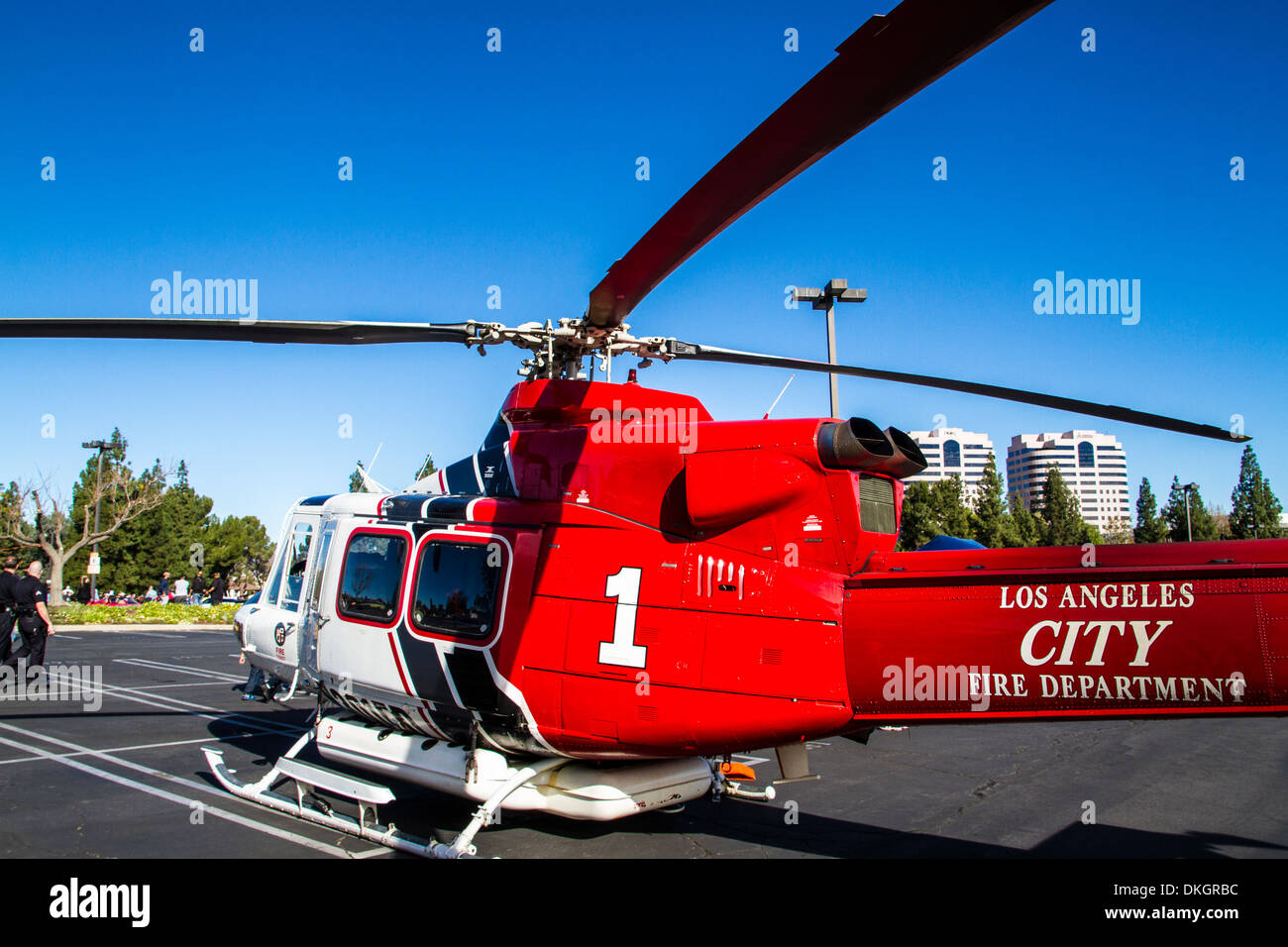 Christiana Fire Department Fire Helicopter
