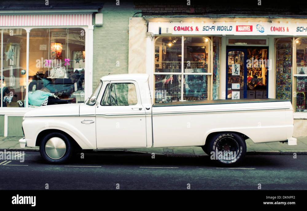 medium resolution of 1966 ford f150 pick up truck stock image