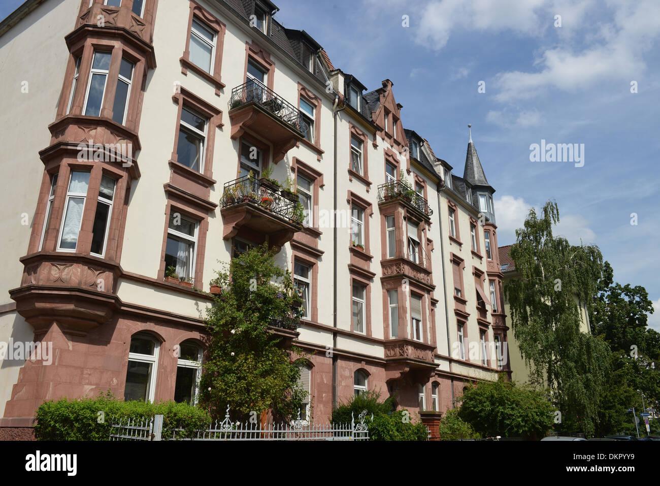 Altbau Danneckerstrasse Sachsenhausen Frankfurt Am Main