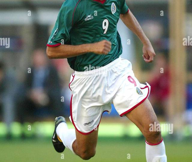 Apr 19 1942 Croatia V Mexico Jared Borgetti Mexico Nigata Nigata Japan Croatia V Mexico  Di3306 K47873 World Cup Preview 2006