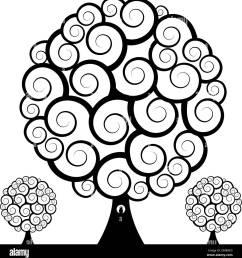 swirl tree owl stock image [ 1271 x 1390 Pixel ]