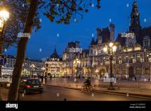 Hotels in Paris France at Night