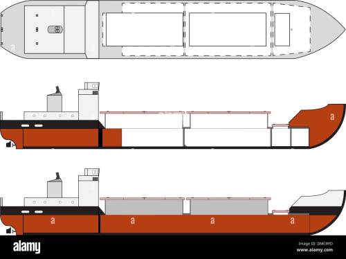 small resolution of cargo ship with hold details