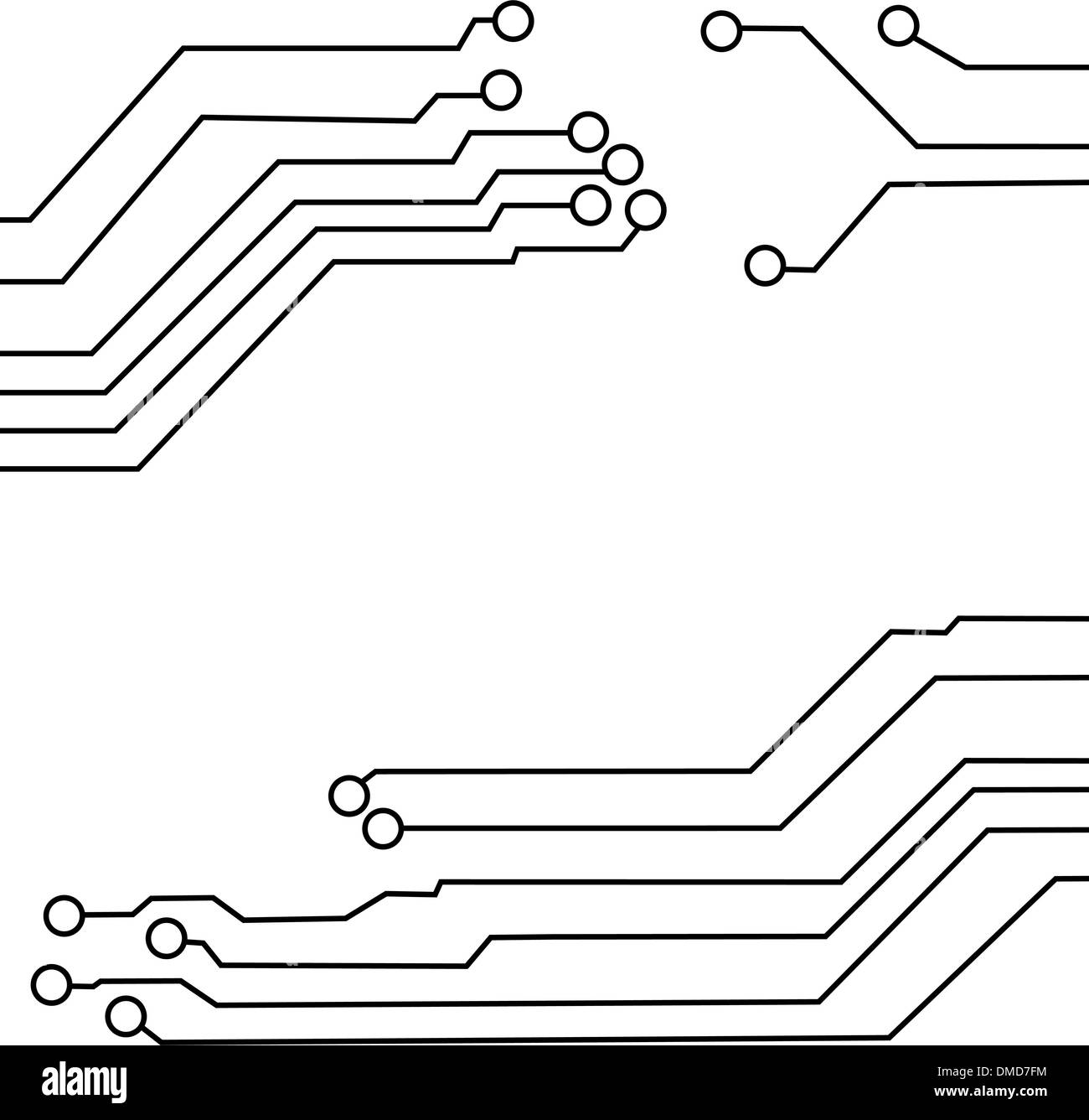 hight resolution of circuit board background texture stock image