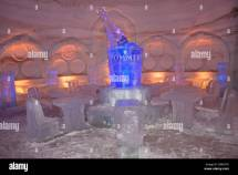 Lobby Of Hotel De Glace Montreal' Snow Village