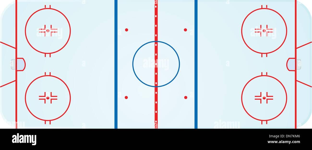 hight resolution of hockey rink