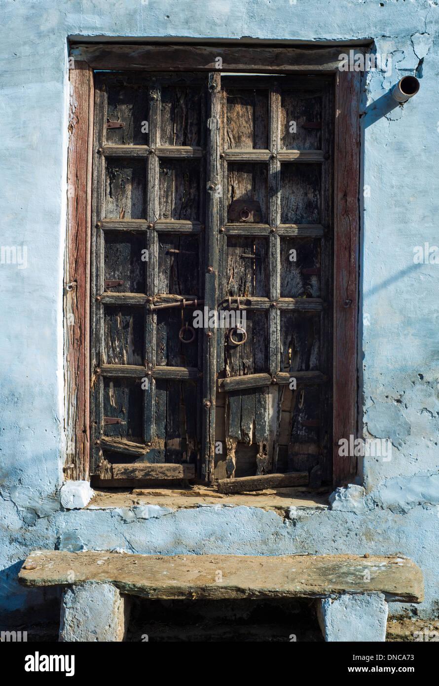 Wooden Door Step