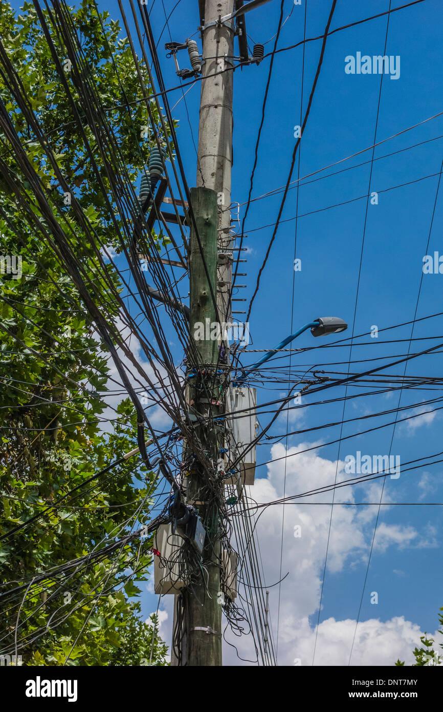 medium resolution of electrical wiring mess stock photos electrical wiring mess stock crazy telephone wiring india