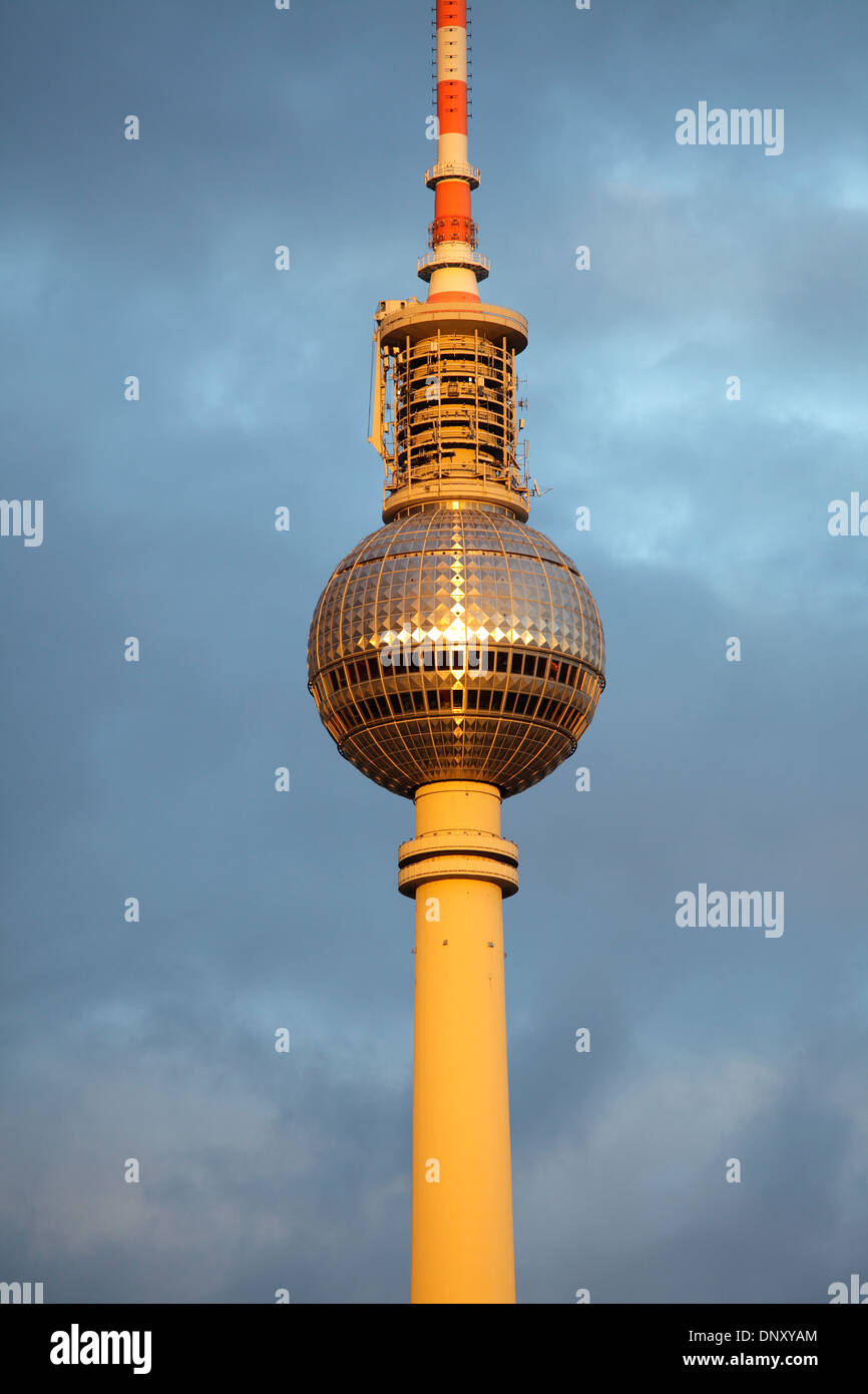 the fernsehturm or television