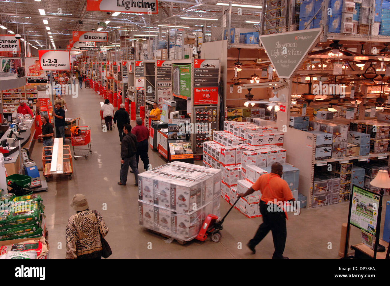 Home Depot Store Interior Stock Photos  Home Depot Store